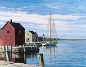 Sail Boat Rockport