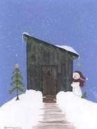 Barnwood Outhouse