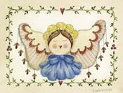 Blue Bow Angel