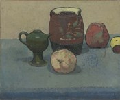 Stoneware Pot and Apples, 1887