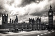 Houses of Parliament B/W