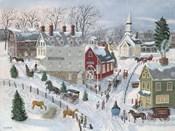 Oak Ridge in Winter