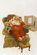 Santa Learning Computer