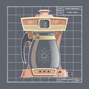 Galaxy Coffeemaid - Coral