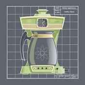 Galaxy Coffeemaid - Lime