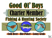 Good Ol Boys Hunting & Fishing Society