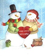 Warm Welcome Snowman