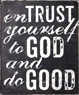 Entrust Yourself To God