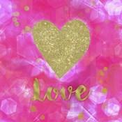 Glitter Love Pink
