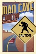 Man Cave Caution