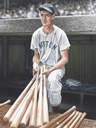 Ted Williams on Deck