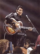 Elvis in Leather