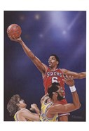 Dr. J Going to the Rim
