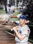 Mickey Mantle The Mick.