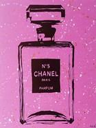 Purple Chanel No5 Pop Art