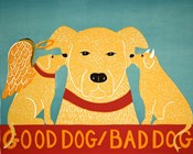Good Dog Bad Dog Yellow
