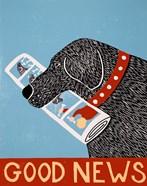 Good News Dog Black