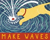 Make Waves Yellow Wbanner