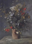 Flowers in a Vase, c. 1866