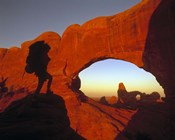Mountaineering Arches National Park, UT