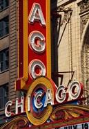 Chicago Theater Sign, Illinois