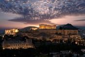 Ruins of a Temple, Athens, Attica, Greece
