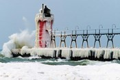 South Pier Lighthouse, South Haven, Michigan