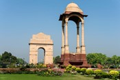 View of the India Gate, New Delhi, India
