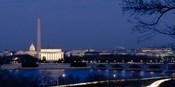 Washington Monument, Lincoln Memorial, Capitol Building, Washington DC