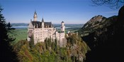 Aerial view of a Castle, Germany, Bavaria