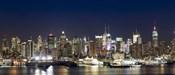 Hudson River at Dusk, Manhattan, New York City