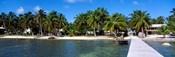 Oceanfront Pier, Caye Caulker, Belize