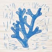 Sea Creature Coral Blue