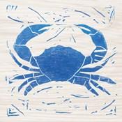 Sea Creature Crab Blue