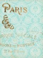 Paris in Gold I