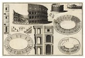 Diagram of the Colosseum
