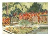 Aquarelle Garden I