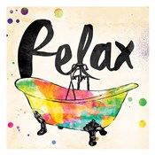 Relax Colorful Bath