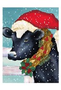 Christmas Cow Vertical