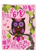Owl Set Numlet Pinks 2