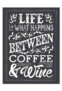 Chalk Coffee Wine