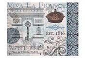 Paris Pair Rect Blue Brown 01