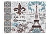 Paris Pair Rect Blue Brown 02