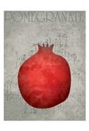 Fruit Watercolor I