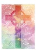 Watercolor Cross Words 2