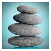 Stacking Stones 2 Teal