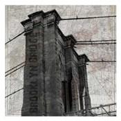 Vintage Brooklyn Bridge