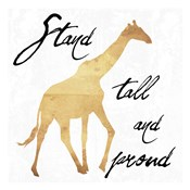 Stand Tall And Proud