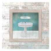 Framed Aqua Bath Sink