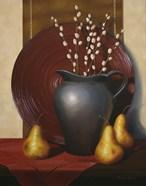 Still Life with Black Vase